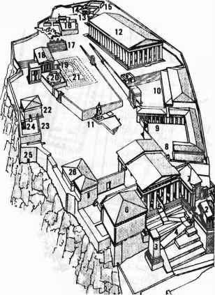 Храм Афины-Нике. 3.
